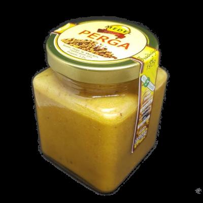 perga ili fermentirana pelud koju su pcele obogatile svojim enzimima