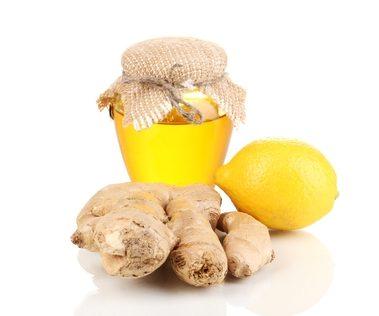 Ginger and lemon honey 250 g